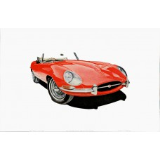 The Jaguar E-Type Series One Roadster